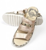BRAKO Rose/gold sandal 2204