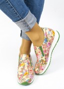 Cinnamon Step-in sneakers blomstra
