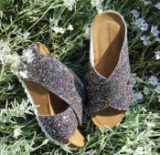 Copenhagen shoes kilklack Multi Glitter
