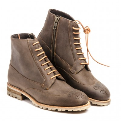 Michel brown boot