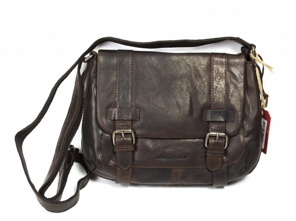 Spike   Sparrow flapbag brun 23885 da87d671a2846