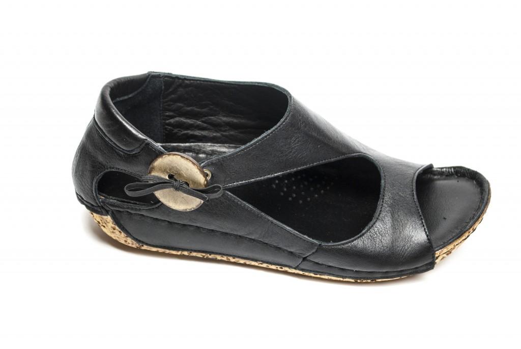 Charlotte sandal svart
