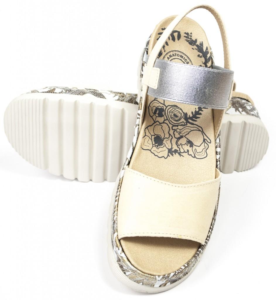 BRAKO creamsilver sandal 2201