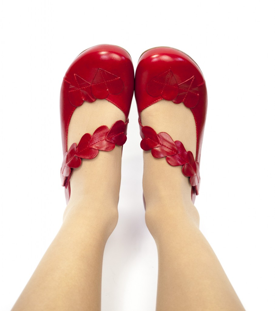 3 hjärtan skor